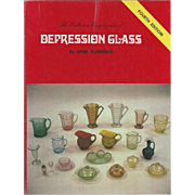"SOLD Vintage Book "" The Collectors Encyclopedia of Depression Glass"""