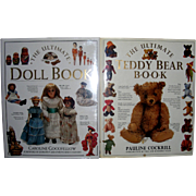 """2 Vintage Books """" The Ultimate Doll Book""""  &  """"The Ultimate Teddy Bear Book"""""""