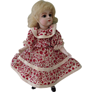 Sweet Floral Cotton Two Piece Dress for All bisque or Mignonette