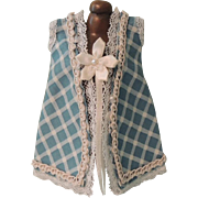 REDUCED Lovely Hand Made Blue Dress for Mignonette or Other Small Dolls