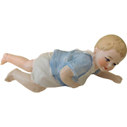 SALE Sweetest 4 1/4 Inch Crawling Baby Figurine