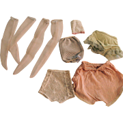 Vintage Fashion Doll Undies from 1950's - 1960's