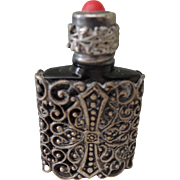 Pretty Miniature Perfume Bottle for French Fashion's Trousseau