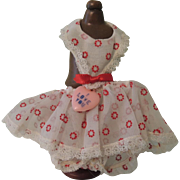 "SALE Rare Vogue Ginnette ""Valentine Special"" Promotional Dress 1956"