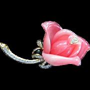 SALE KJL Rose Pin