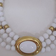 SALE Napier Collar Necklace