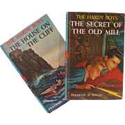 Hardy Boys Numbers 2 - 3, very nice