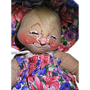 SOLD Annalee Easter Parade Bunny - Red Tag Sale Item
