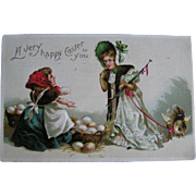 Postcard lot of Seven; Easter early 1900's (2)