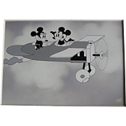 "SALE Mickey & Minnie Mouse animation scene ""Plane Crazy"", 1928"