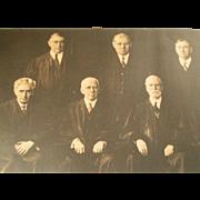 REDUCED Historic Supreme Court 1932 Photo Portrait