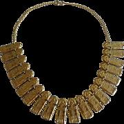 SALE 1920s EGYPTIAN Snake Motif Necklace