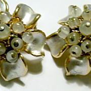 SALE Enamel & Glass Bead FLORENZA Earrings