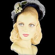Vintage 1950's Straw Hat