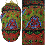 Antique Beaded Purse ca 1900