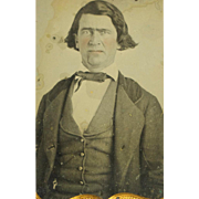 Antique Civil War Era Daguerrotype With Questionable Pose