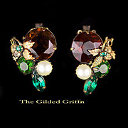 Vintage Late 1930s Earrings