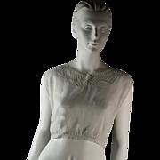 Antique Corset Bust Bodice, c. 1915