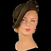Vintage 1930s Hat For Discerning Collectors