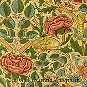 RARE RARE RARE William Morris Registered 1883 Textile Yardage, Authentic & Rare with Provenanc