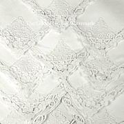 SOLD Vintage 1920s Gatsby Era Linen Napkins or Serviettes, Magnificent Reticella Lace