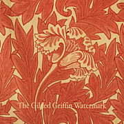 SOLD RARE William Morris 'Tulip' Textile Yardage, Authentic & Rare with Provenance