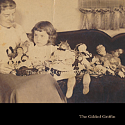 PHOTO, About 1898: Victorian Doll Collection, Mother & Child