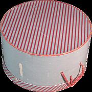 1950s Decorative Ladies Lane Bryant Vintage Hat Box