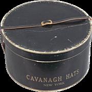 SOLD Cavanagh Hats, New York, Mens Vintage Hat Box