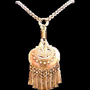 SALE Moon Goddess Necklace In Bronze by Kalevala Koru