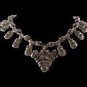 Gorgeous Vintage Rhinestone Crystal Choker Necklace - Flash and Sparkle!