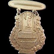 SALE Antique Cincinnati Golden Jubilee 1849 1899 Commemorative Badge or Medal