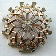 Rare Trifari Patent Pending Alfred Philippe Brooch Design No 162078
