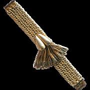 Hobe gold tone carrots tassel bracelet