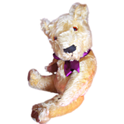 SOLD Wonderful William, Chad Valley Magna Teddy Bear 1930's with Magna Label