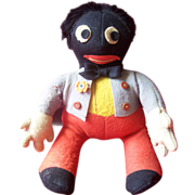 SOLD Rare  Vintage Deans Golly, Golliwogg Doll A/F
