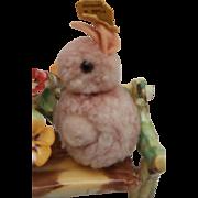 SteiffWoolen Bunny Rabbit, 1959 to 1964, Steiff Button