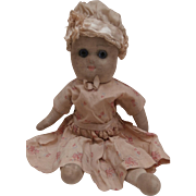Mary, Early English Stockinette Doll, 1915 - 1920's