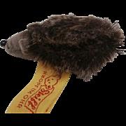 Smallest Size Steiff Joggi Hedgehog, Steiff Label, 1990's, A/F