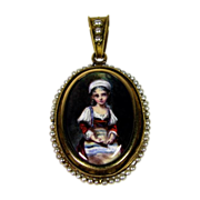Fabulous French Victorian Pendent
