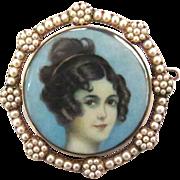 Striking Portrait--The Empire Lady
