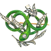 A Delightful Snake--A Subject For The Jeweler's Craft