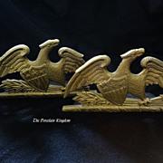 SOLD 1952 Vintage Virginia Metalcrafters Spread Eagle Bookends
