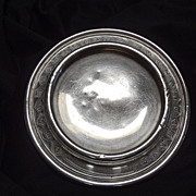 Silverplated Alphabet Baby Plate