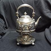 American Silverplate, Tilting Teapot