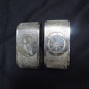 Nautical Napkin rings (pair)