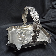 Victorian Silver Plated Basket