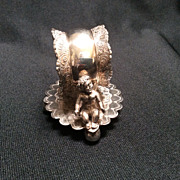 SOLD Figural Napkin Ring