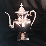 Tea Pot, Silverplate