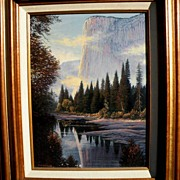 SALE El Capitan, Yosemite (Canadian Artist - Charles H. White)